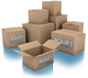 Aqua Spa Supplies shipping boxes